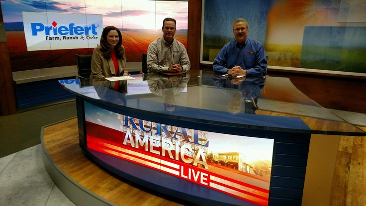 Courtney Dyer, Chip Tully and Mark Oppold on Rural America Live 2016