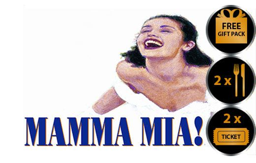 MAMMA MIA THEATRE VOUCHER SHOW AND DINNER FOR TWO THEATRE VOUCHER GIFT PACKAGE Mamma Mia the musical is arguably one of London s top West End theatre