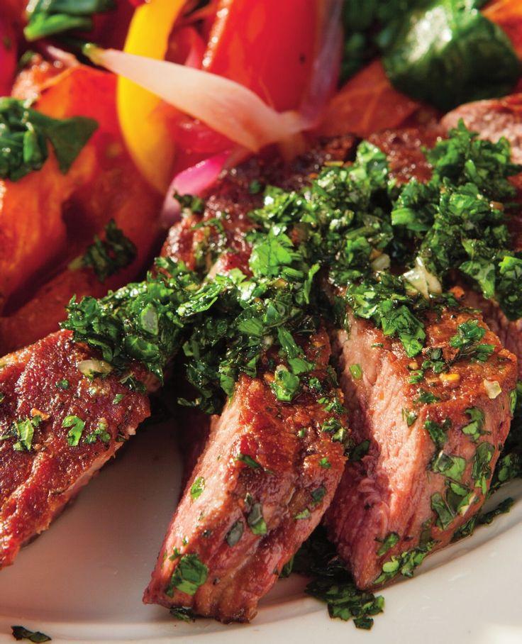 Bob Harper's Recipe for Chimichurri Steak | Scribd