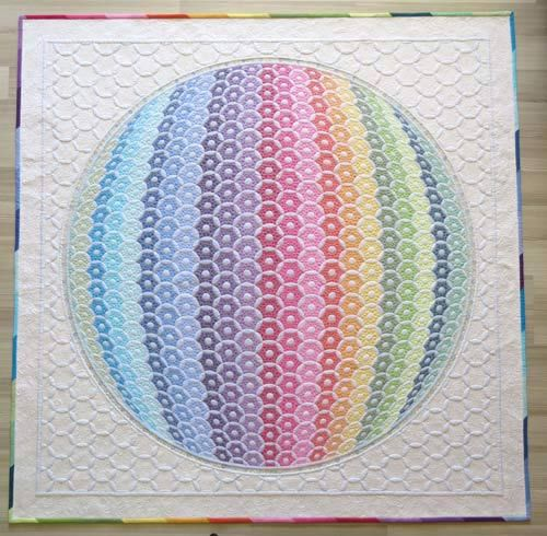 This quilt blows me away. I only half understand the construction. I will be doggedly reading through the back catalogue of this blog now trying to learn The How! Definitely inspiring :) A big thank you to completely cauchy for sending me in Geta's direction!