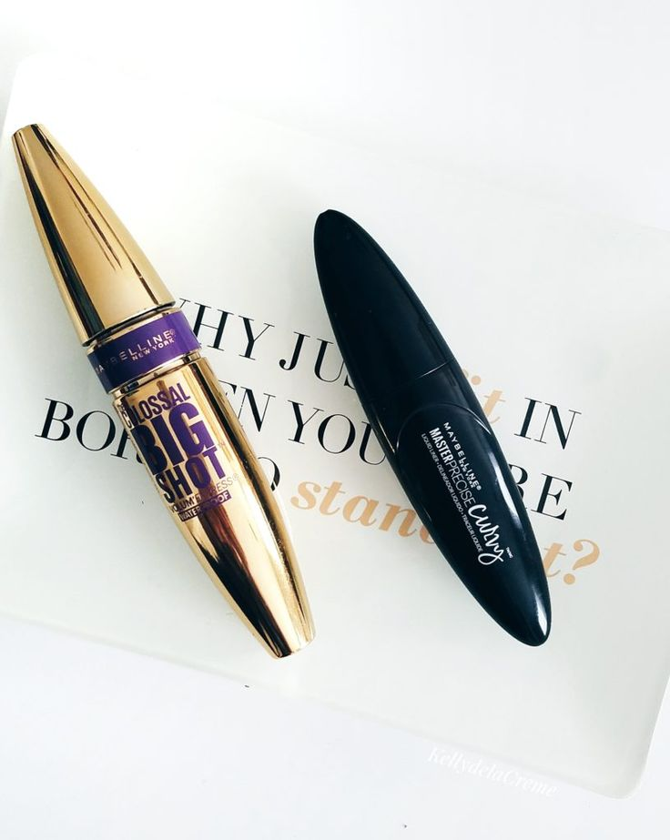 Maybelline Colossal Big Shot Mascara Review & Master Precise Curvy Liner