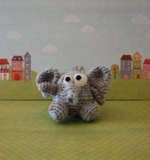 Woolly Toons: Egmont the Elephant - Amigurumi pattern