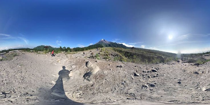 Check out Mount Merapi on #StreetView