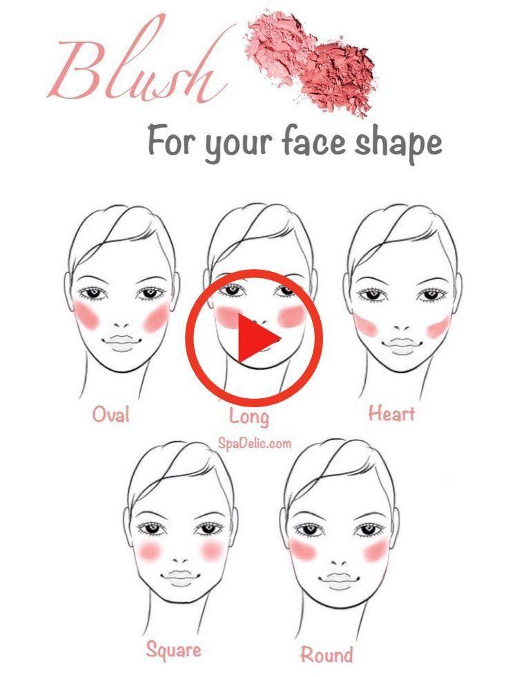Makeup Ideas For Christmas Cute Makeup Ideas For Halloween Sugar Skull Makeup Ideas Pretty Makeup Idea In 2020 Herzformiges Gesicht Gesichtsformen Makeup Auftragen