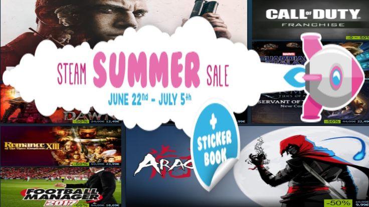 Vblog: STEAM Summer sale 2017 satoa