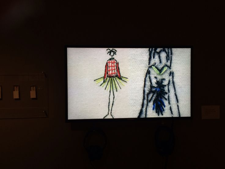 Julieskarland, embroidery, khoj artistresidency, 2012 stop motion video,