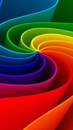 Op deze afbeeldingen zijn er lijnen gebruikt die via een kronkel naar het midden lopen, er wordt een soort van 3d effect gecreërd.