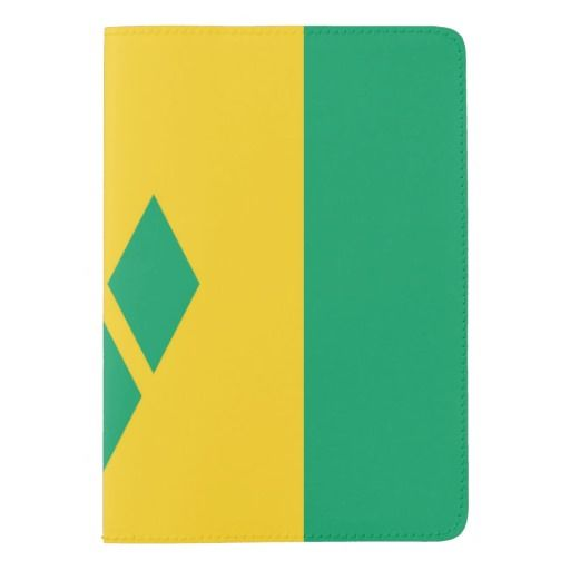 Saint Vincentian flag Passport Holder