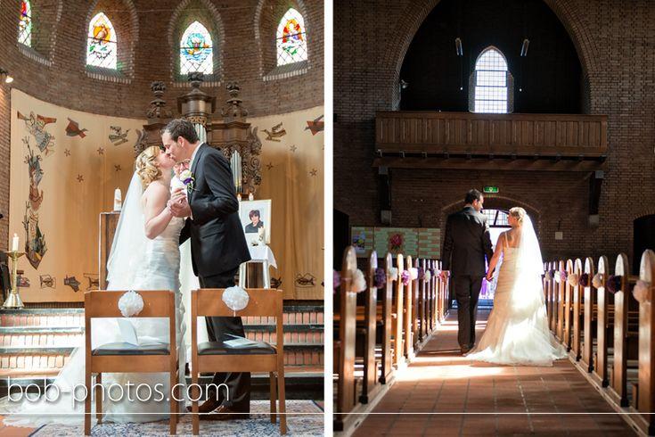 Kerkelijk huwelijk, Katholieke Sint-Martinuskerk in Schijf. Bob-photos.com