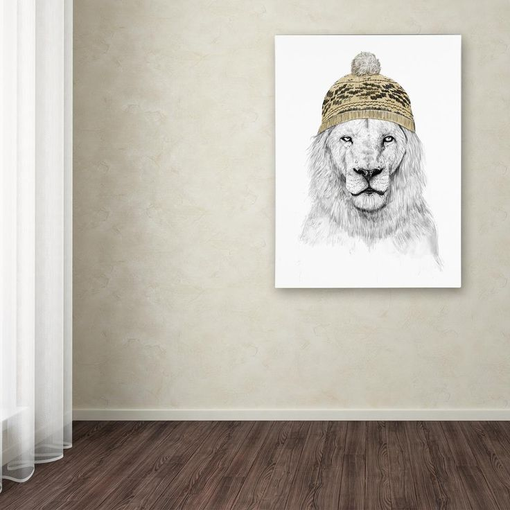 """19 in. x 14 in. """"Winter Is Coming"""" by Balazs Solti Printed Canvas Wall Art"""