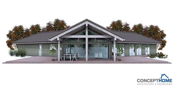modern-houses_001_house_plan_ch134.jpg | House Plans | Pinterest ...