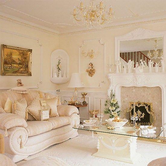 Georgianischen Stil Wohnzimmer Wohnideen Living Ideas Interiors Decoration