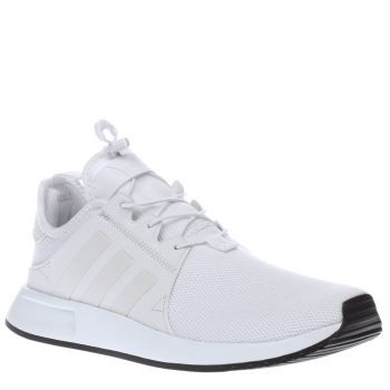 Adidas White X_plr Womens Trainers The adidas X_PLR arrives to keep your up  with your busy lifestyle. This all-white sporty profile features a  breathable ...