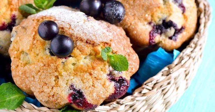 Un déjeuner facile, une collation rapide, le muffin aux bleuets à toujours sa place