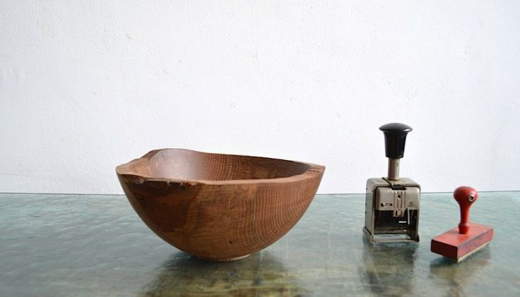 Character wood bowl | artKRAFT - Furniture&Design