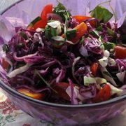 Салат из красной капусты  / Kırmızı Lahana salatası