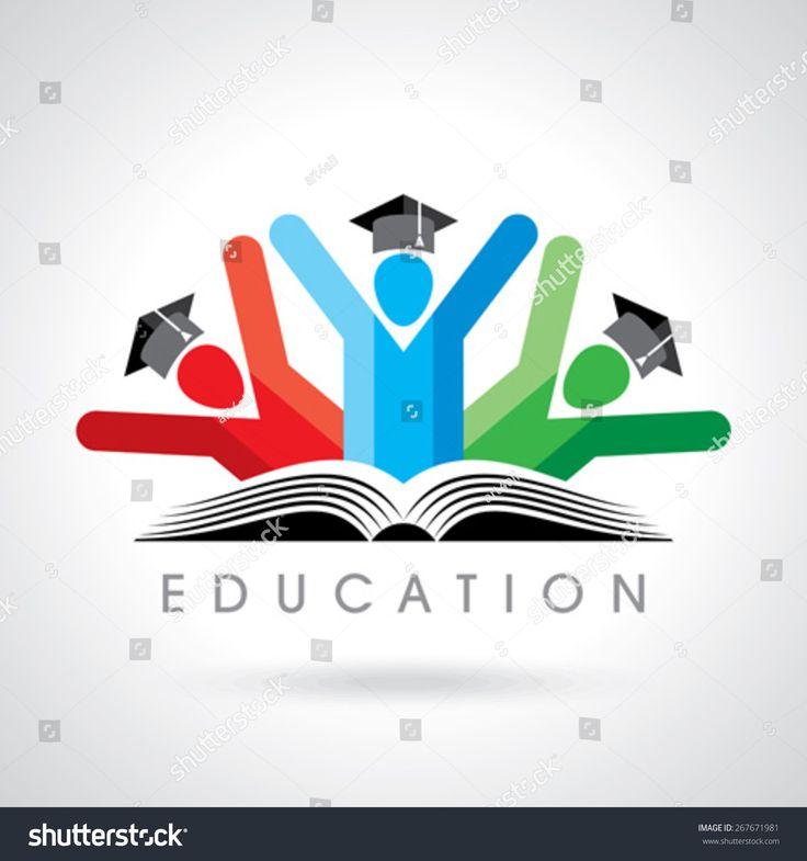 stock-vector-happy-students-with-pencil-icon-educational-symbol-267671981.jpg 1500×1600 пикс