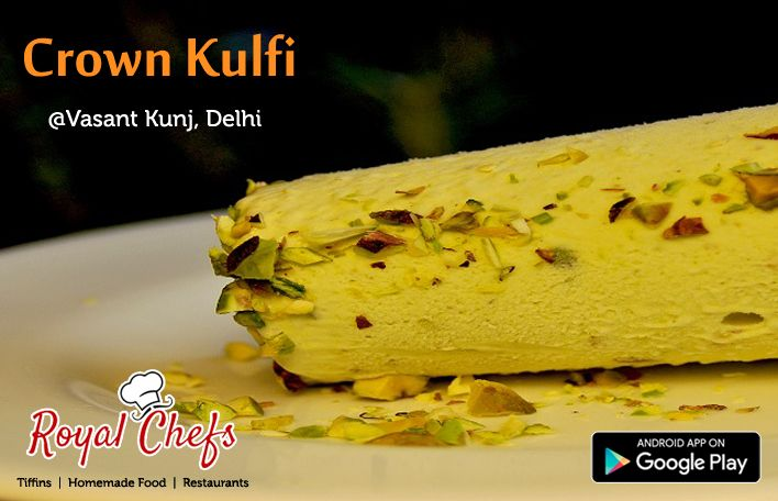 Take A Break From Your Busy Schedule. Order A Mouthwatering Chilled Ice Cream From CROWN KULFI. On Royal Chefs. ‪#‎delhi‬ ‪#‎Newdelhi‬ ‪#‎Gurgaon‬ Download The ‪#‎Royalchefs‬ App Now https://goo.gl7zgs0I