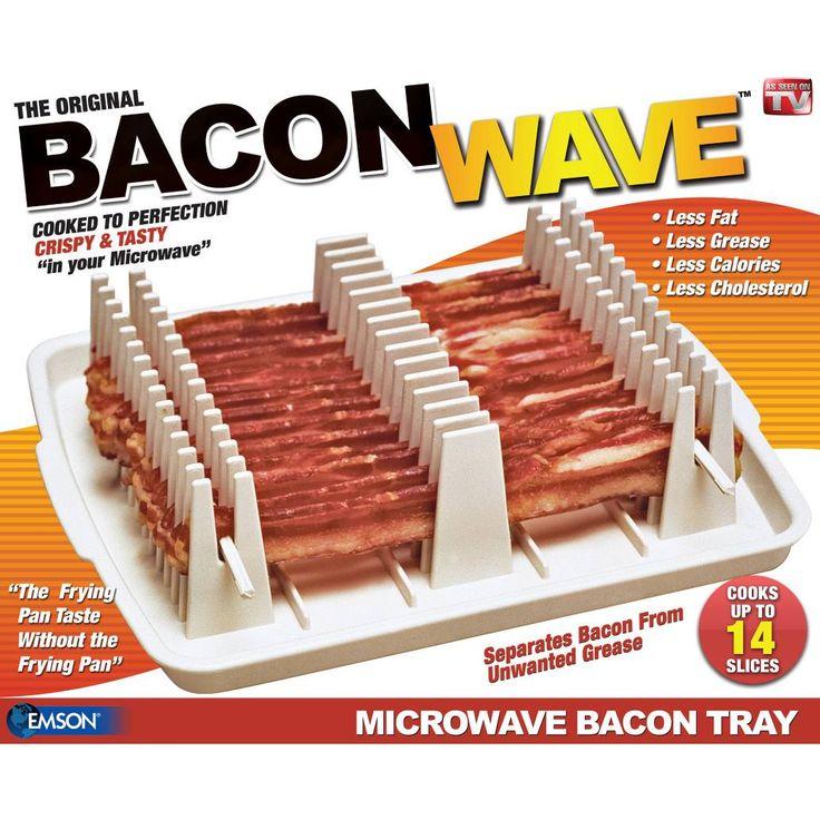 Emson Bacon Wave Microwave Cooker