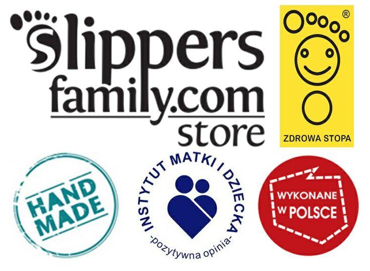 Pozytywna Opinia Instytutu Matki i Dziecka i tyle certyfikatów, ile tylko zmieściła nasza grafika - to wszystko MY - www.SlippersFamily.com :-)