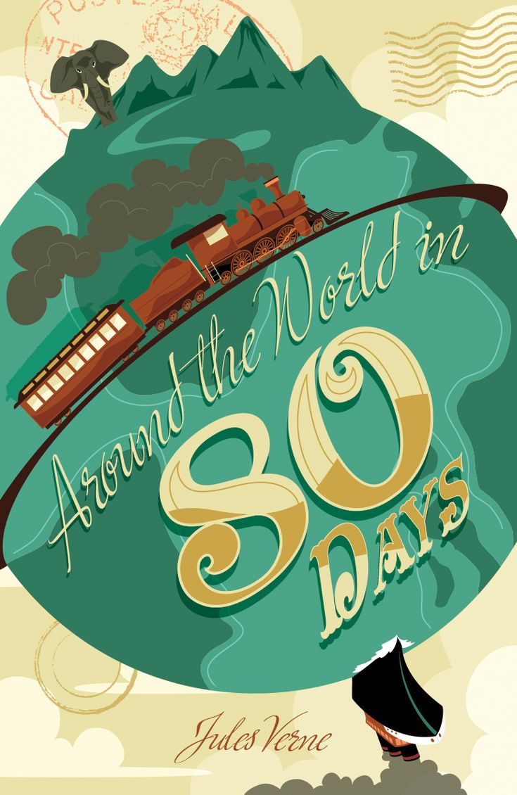 Around the World in 80 days by MikeMahle.deviantart.com on @deviantART