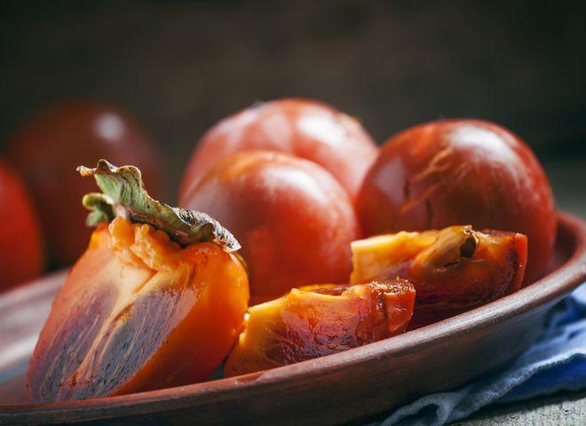 Полезный осенний фрукт- хурма