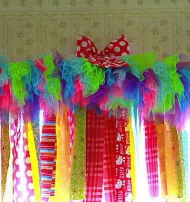DIY Window Dressing for a kids room