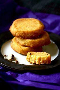 Petits sablés à la farine de pois-chiche et à la cardamome Sans gluten, sans lactose