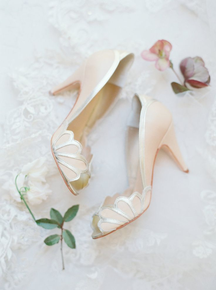Sea shell wedding peep toe pumps: Photography: Jessica Gold - http://www.jessicagoldphotography.com/yzagd2wgix9qe7qiefzmbubrbkqqmd