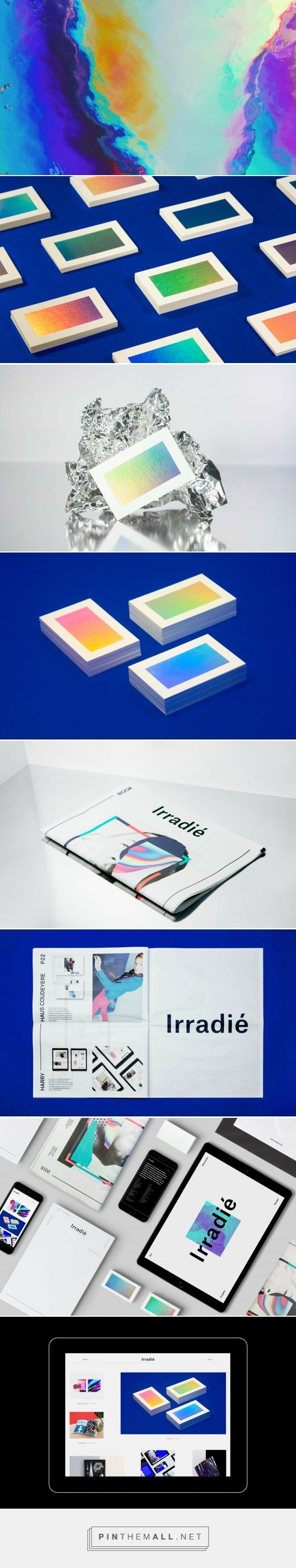 interesting way to incorporate colors of the brain scan into branding. We can…