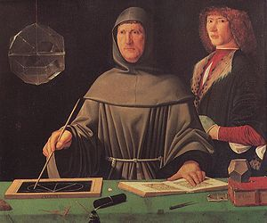 """Luca Pacioli is widely considered the """"Father of Accounting"""". Also, his treatise touches on a wide range of related topics from accounting ethics to cost accounting. Remarkably, in the solution for one problem he presented in the book he used an approximation of 100*log 2, more than 100 years before Napier and Briggs."""