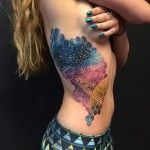 50 Pretty Side Tattoos for Girls