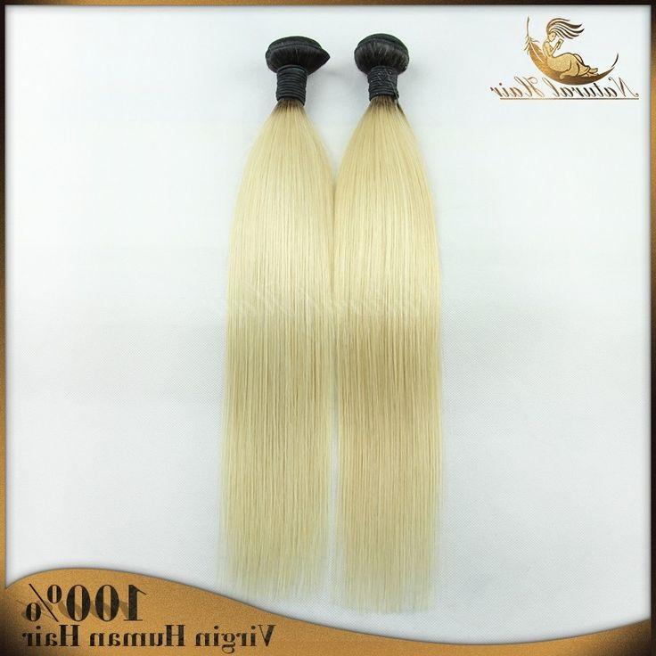 63.28$  Buy now - https://alitems.com/g/1e8d114494b01f4c715516525dc3e8/?i=5&ulp=https%3A%2F%2Fwww.aliexpress.com%2Fitem%2FPeruvian-blonde-virgin-human-hair-1b-613-two-tone-ombre-peruvian-straight-human-hair-weave-2pcs%2F32441986295.html - Peruvian blonde virgin human hair 1b/613 two tone ombre peruvian straight human hair weave  2pcs/lot dark roots blonde hair 63.28$
