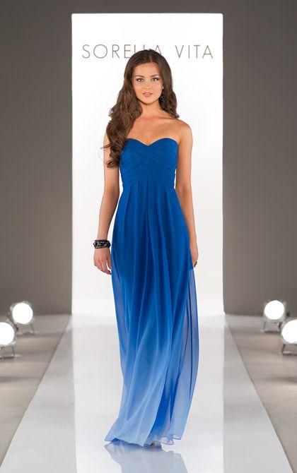 Ombre Bridesmaid Dress from Sorella Vita Style 8405 - Bridal Gallery SF