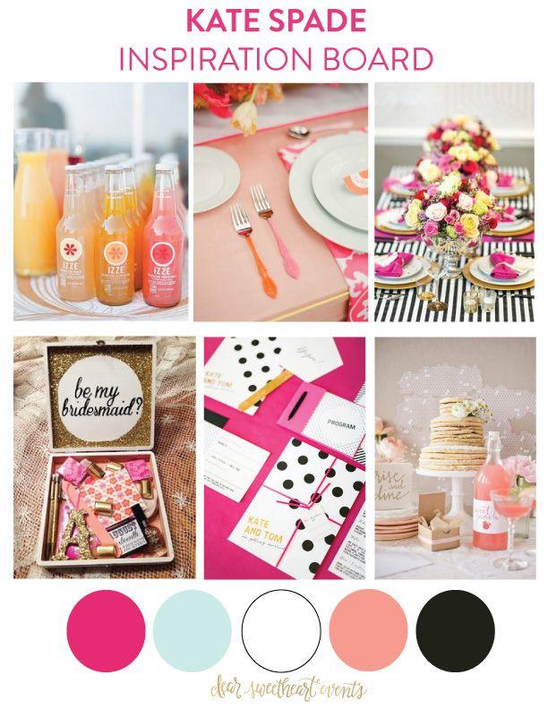 Inspiration Board: Kate Spade Bridesmaid Brunch - Dear Sweetheart Events