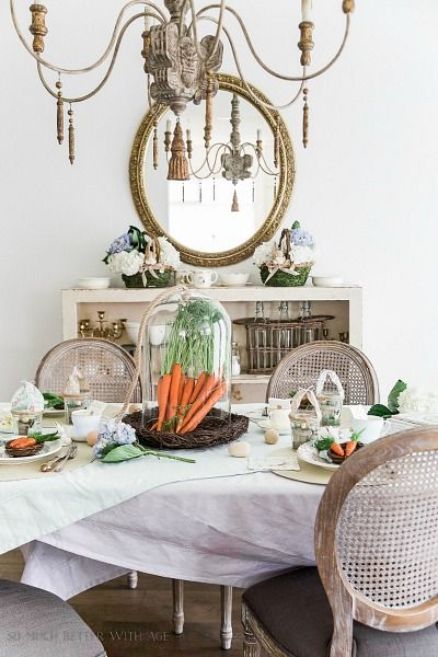 1997 best spring tablescapes images on pinterest for Beautiful table settings for spring