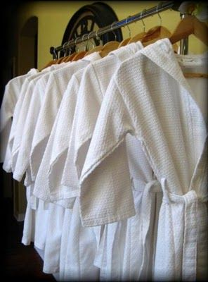 Luxurious Spa Robes!