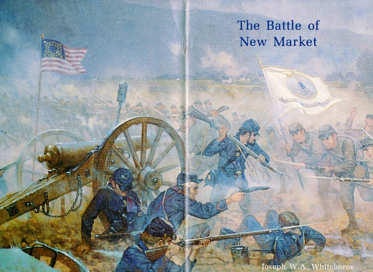 battle of new market | Cover, The Battle of New Market