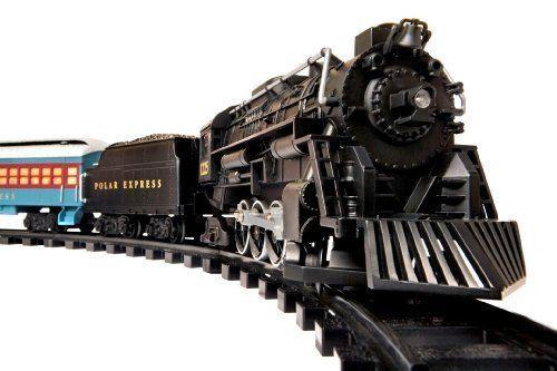Remote control Authentic Train Sounds Lionel Polar Express Train Set - G-Gauge #Lionel