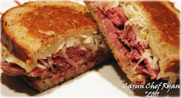 Rueben Sandwich......made correctly it's heavenly!!