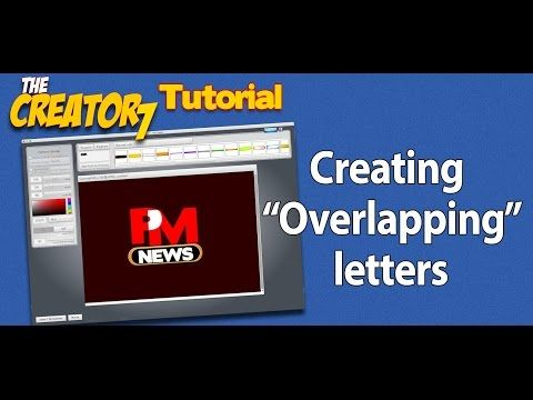 The Overlapping Letter Trick - YouTube