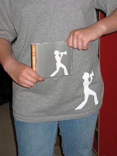 Design your own Tshirt with freezer paper