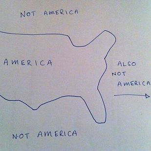 Here S What Happens When You Ask People To Draw A Map Of The Usa From Memory