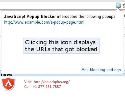 If you are noticing unwanted and annoying javascript pop ups on your browser, here is now the solution for you.