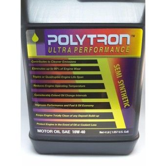 Good Prices Polytron Engine Oil Semi Synthetic 10 W-40 4 L Military IndustrialGradeOrder in good conditions Polytron Engine Oil Semi Synthetic 10 W-40 4 L Military IndustrialGrade ADD TO CART PO188OTAXO93ANMY-1137920 Motors Automotive Auto Oils & Fluids Polytron Polytron Engine Oil Semi Synthetic 10 W-40 4 L Military IndustrialGrade