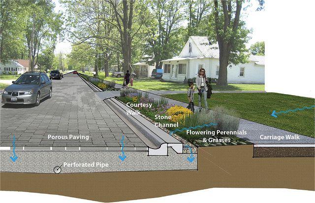 Reverdecer las calles puede hacerlas mas Resilientes a climas extremos