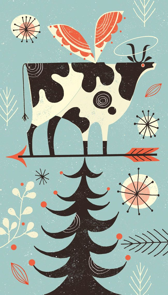Tracy Walker Illustration - JOURNAL - Holy Cow! the holidays are coming...