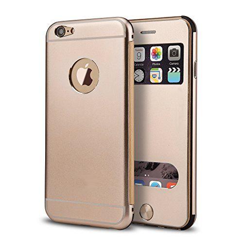 PhoneStar High End Aluminum Apple iPhone 6, 6s Schutz Hülle Flip-Cover mit Sichtfenster CNC gefräst - gold. https://www.amazon.de/dp/B01M67ZCD3/ref=cm_sw_r_pi_dp_x_UEjhybXKFFG8P #cnc #phonestar #gold #iphone6 #case #highend #premium