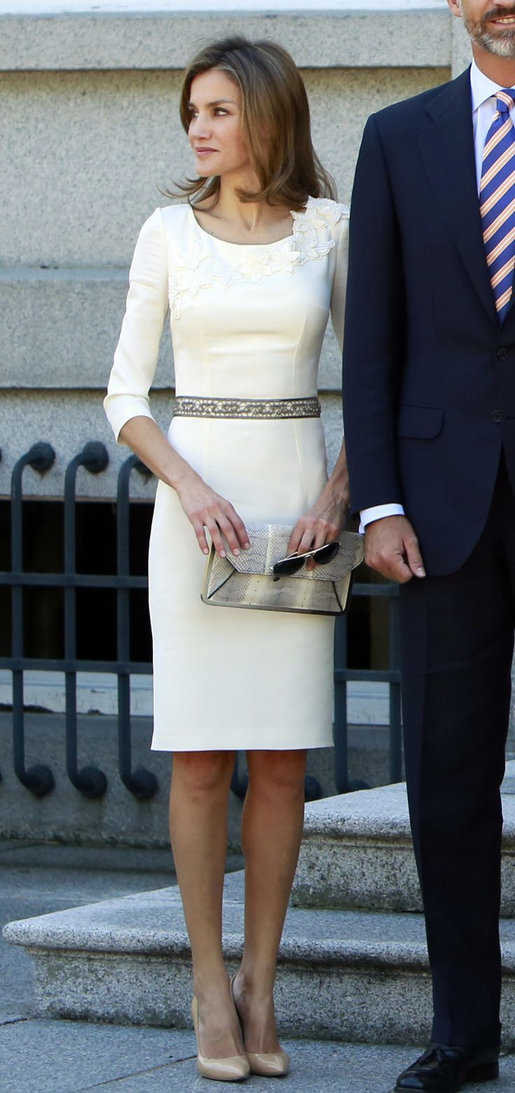 Because she has the perfect LWD. | 30 reasons why Queen Letizia of Spain should be your new style icon http://aol.it/1uLAlYk