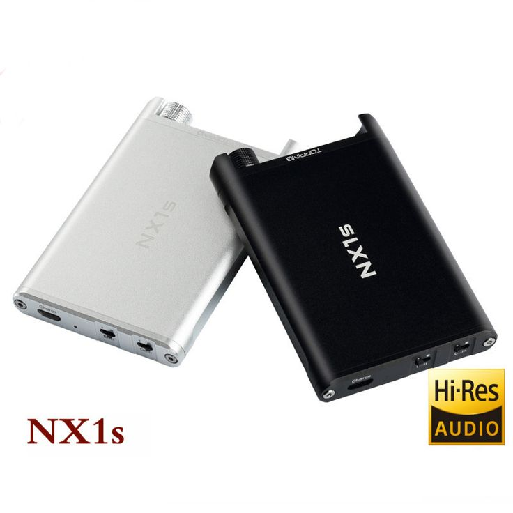 TOPPING NX1s New upgrade Version OPA1652 LMH6643 HiFi Audio Portable Headphone Amplifier amp